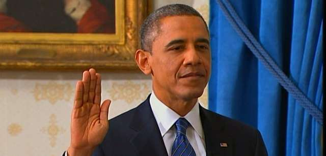 Stepping into his second term, President Barack Obama