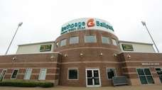 Bethpage Ballpark, home of the Long Island Ducks,
