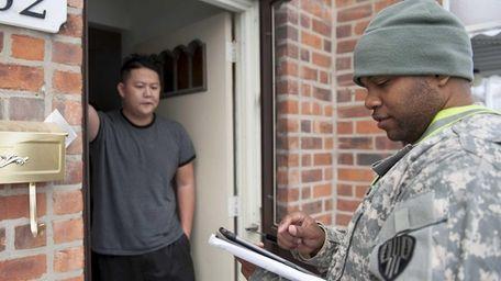 New York Army National Guard Specialist Errol Ximines