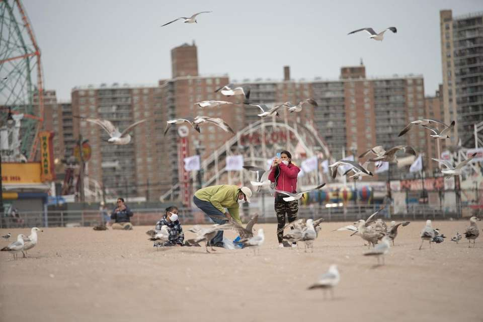Coney Island Beach will be closed to swimming,