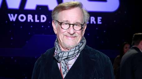 Filmmaker Stephen Spielberg, an executive producer of the