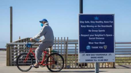 The Long Beach Boardwalk reopened on Thursday with