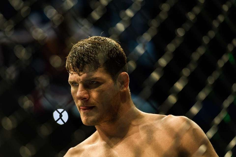 Michael Bisping waits to fight Vitor Belfort at