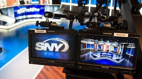 View of Studio 31 at SNY's studios on
