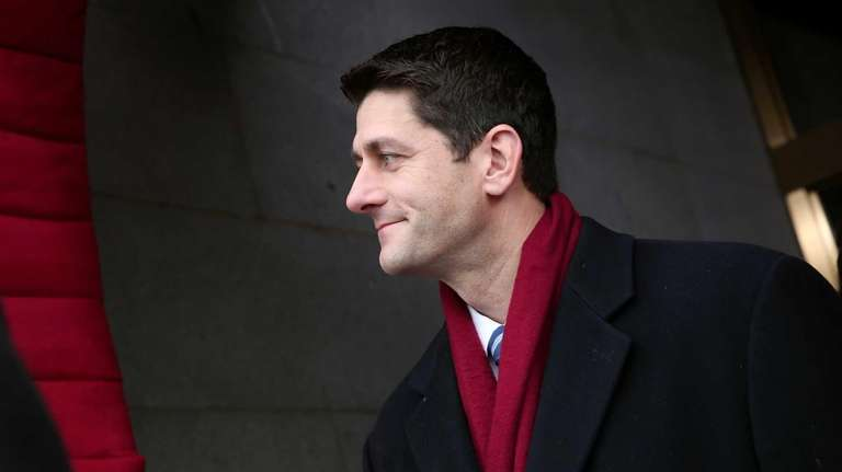U.S. Rep. Paul Ryan (R-WI) arrives for the