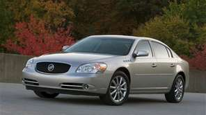 The 2008 Buick Lucerne requires the removal of