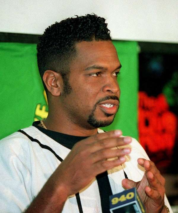 Luther Campbell of the rap group 2 Live Crew. (March 7, 1994)