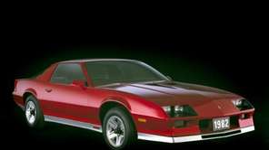 The 1982 Chevrolet Camaro marked the launch of