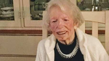 Jeanne Cunningham, who celebrated her 107th birthday in