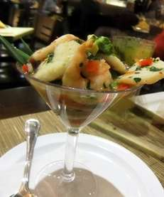 The ceviche at Havana Central in Roosevelt Field