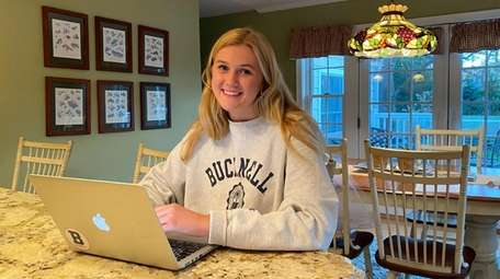 Bucknell University graduate Amy Schlussler is back home