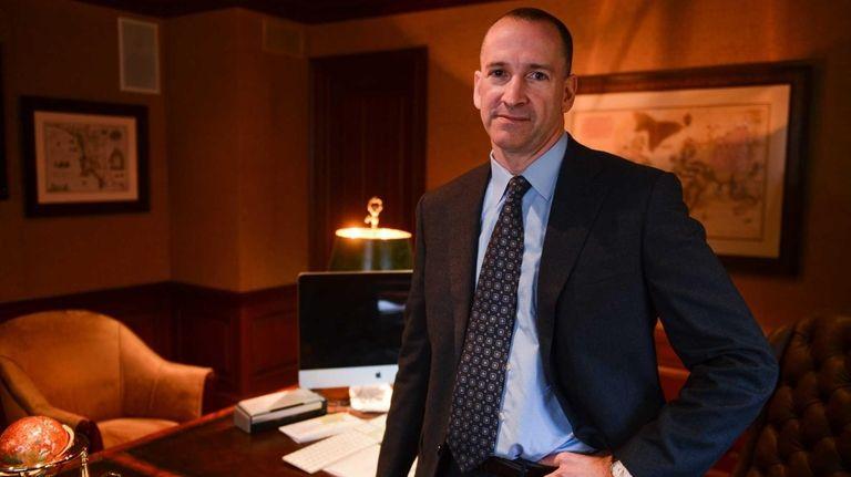 Adam Haber, a Democrat candidate for Nassau County