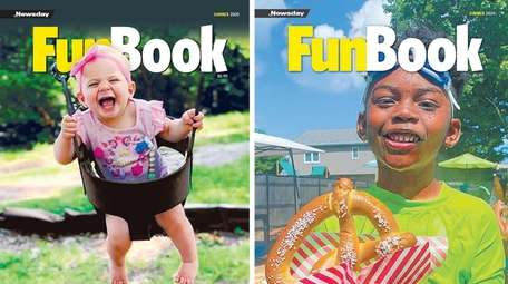 The 30th anniversary editions of Newsday's Funbook.