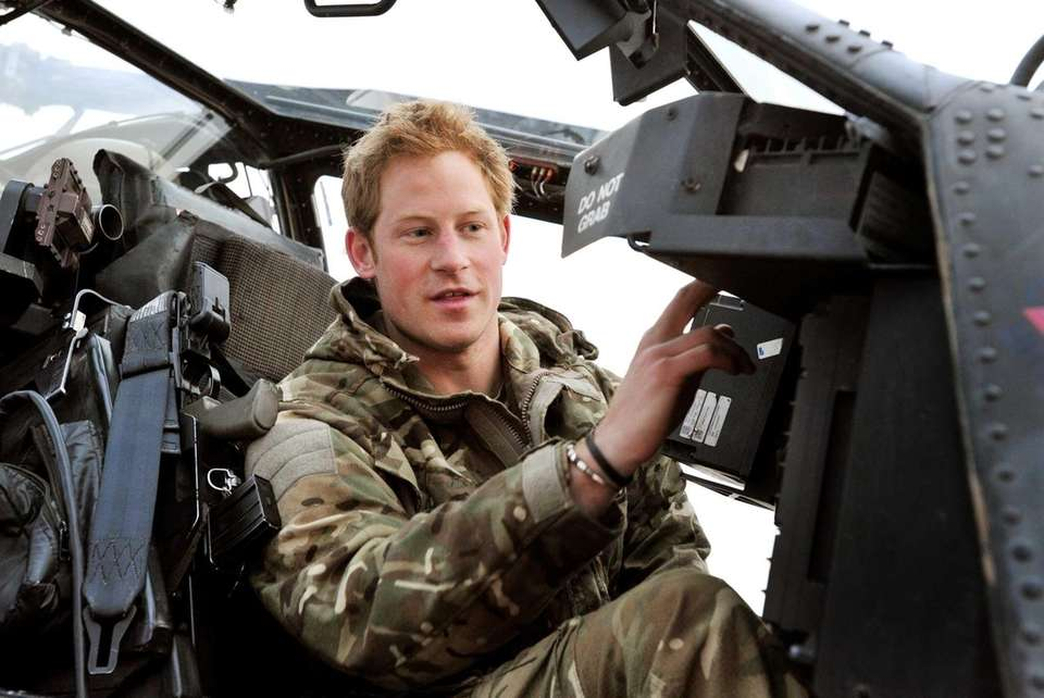 Prince Harry, or just plain Captain Wales as