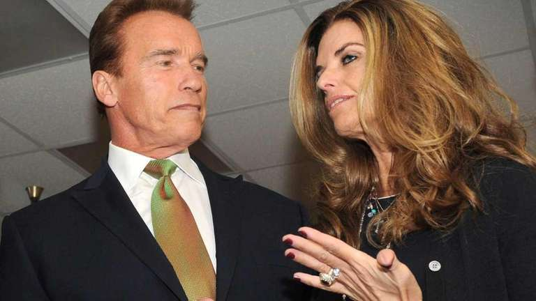 Arnold Schwarzenegger and Maria Shriver attend the Governors'