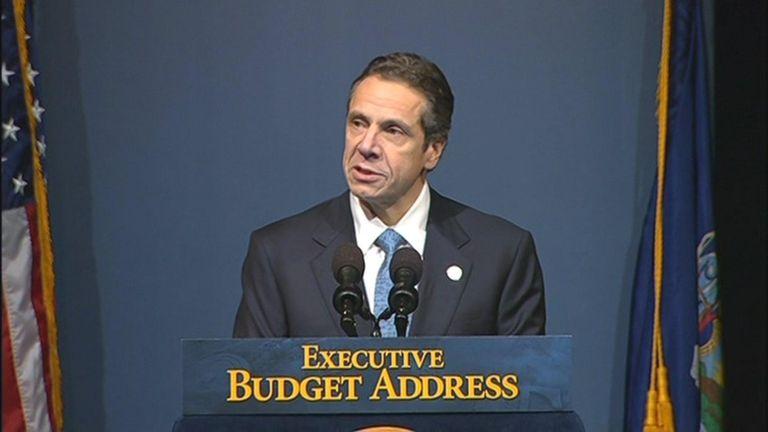 Gov. Andrew M. Cuomo explains his budget for