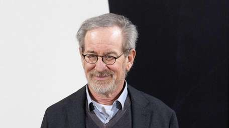 Steven Spielberg poses at a photocall prior to