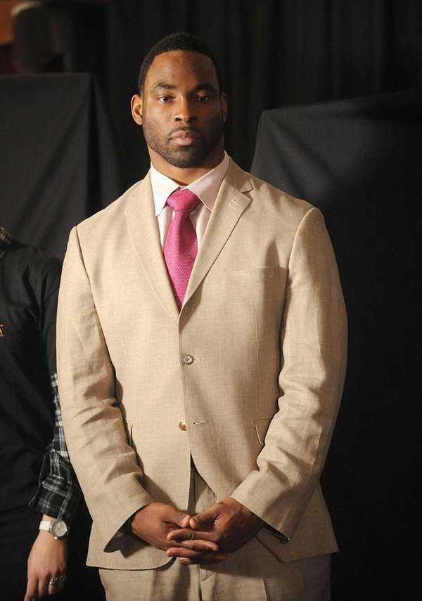 Justin Tuck attends the Garden of Dreams Foundation