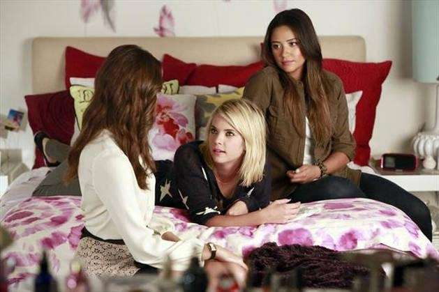 Surprises abound for Aria, Emily, Hanna and Spencer,