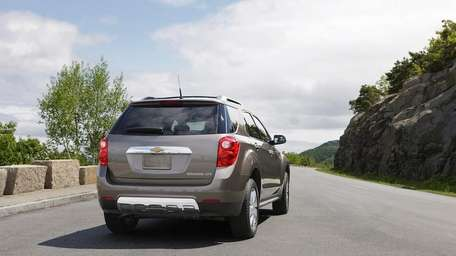 The 2013 Chevy Equinox stands out by offering