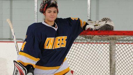 Massapequa High School senior Dana DeMartino poses for