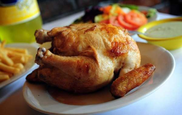 The Chicken Place's whole chicken is hyper-savory and