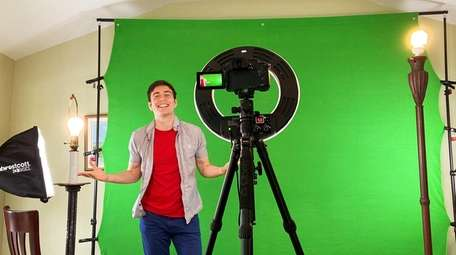 Children's performer Tim Kubart is filming a new,