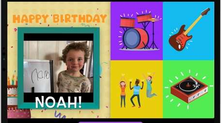 "Noah Quigley of Greenport appeared on ""The Birthday"