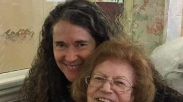 Florence Gertler with her daughter, Nancy.