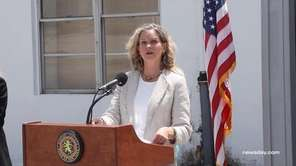 Nassau County Executive Laura Curran on Tuesday said
