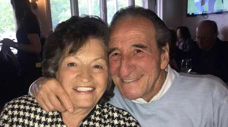 Maria and Frank Miscioscia on Mother's Day 2019.