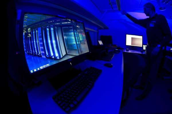A European official at the Cybercrime Center at