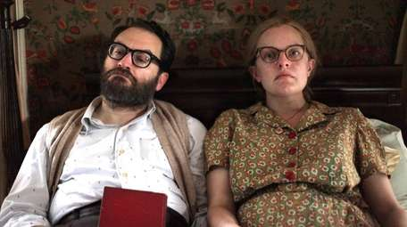 "Michael Stuhlbarg and Elisabeth Moss in NEON's ""Shirley"""