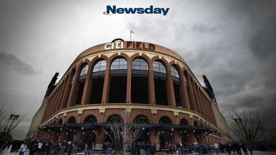 Citi Field at the start of Opening Day,