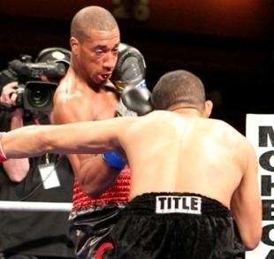 Demetrius Andrade fights at the Verizon Wireless Arena,