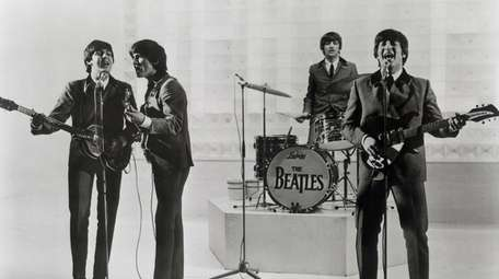 The Beatles created a sensation with the 1964