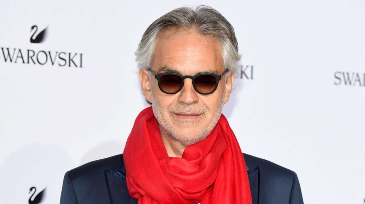Photo of Andrea Bocelli, family recovering from virus and donating plasma