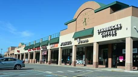 The Three Village Shopping Center on Route 25A