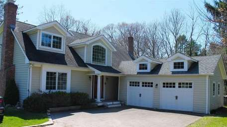 Listed for $1,049,000, this four-bedroom, 2½-bathroom house in