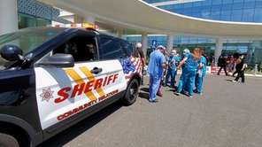 The Suffolk County Sheriff's office on Wednesday held