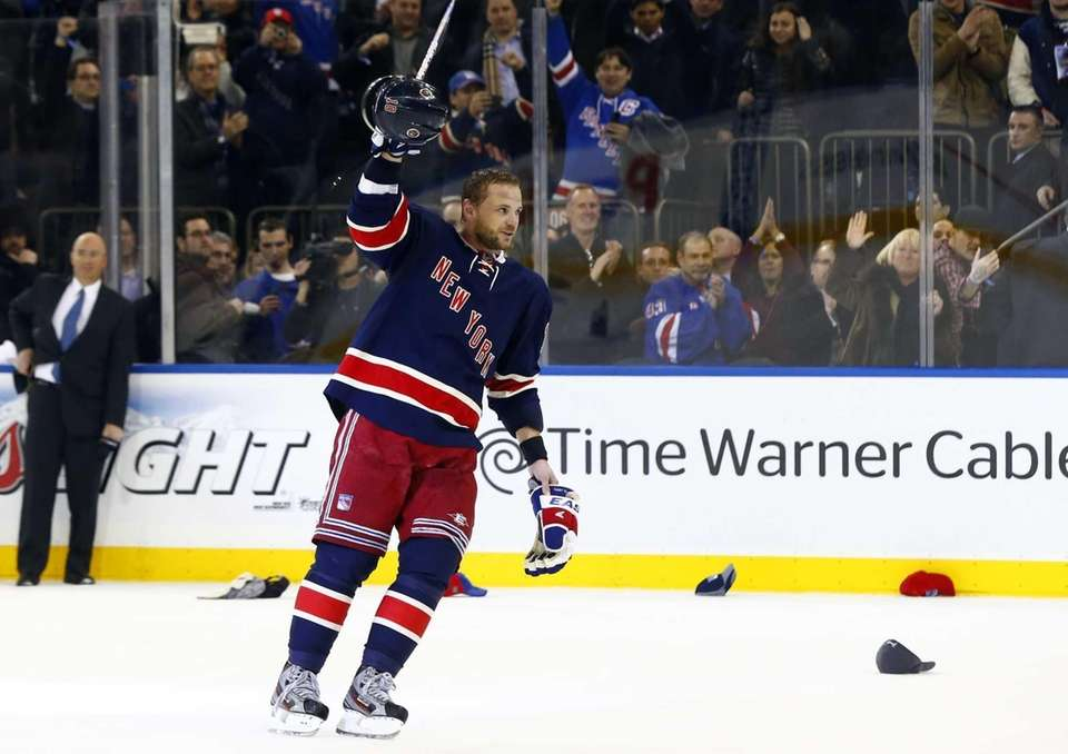 Marian Gaborik is named star of the game