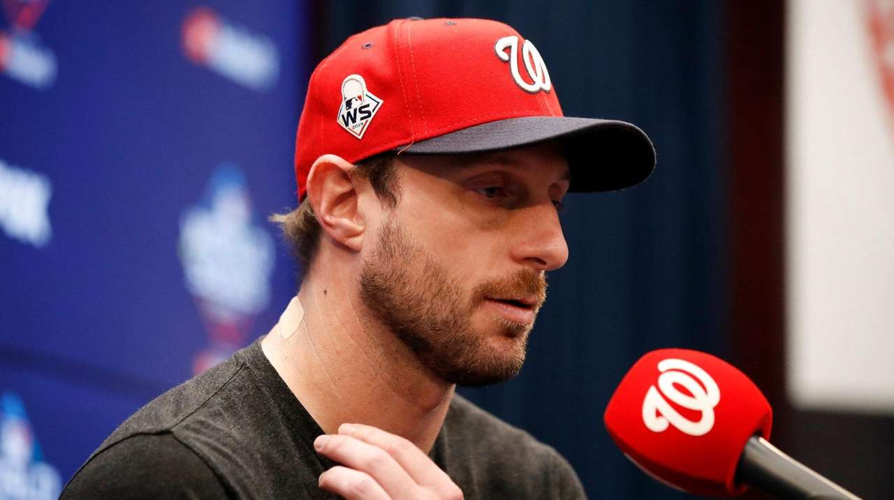 Scherzer knocks down MLB's pay plan for restart