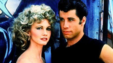 """Olivia Newton-John and John Travolta in 1978's """"Grease."""""""
