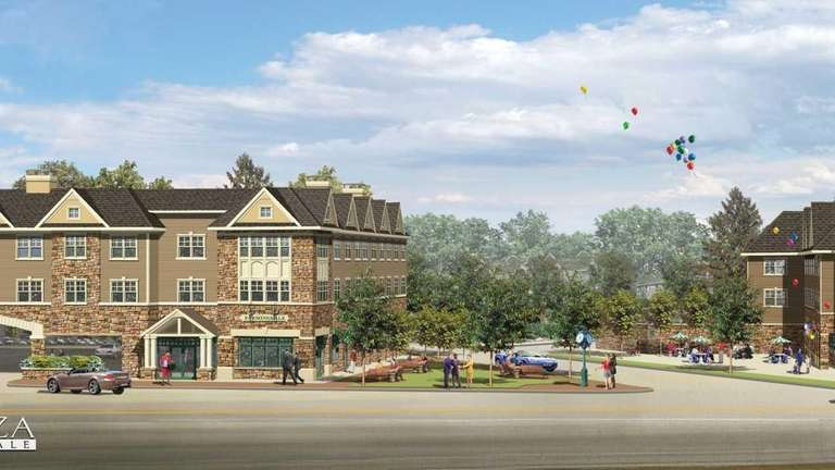 The Plaza at Farmingdale would have 39 apartments