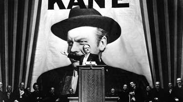 "Orson Welles' ""Citizen Kane"" (1941) is among the"