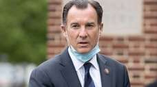 Rep. Thomas Suozzi (D-Glen Cove) speaks at a