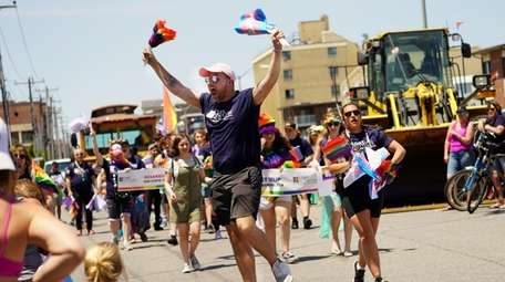 The Long Island Pride parade was celebrated in