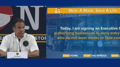 Governor Andrew Cuomo delivers daily briefing on the