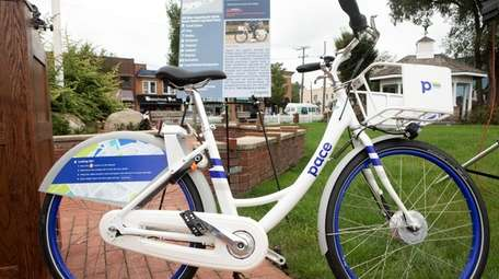 The Bethpage Ride bike-share program is offered in