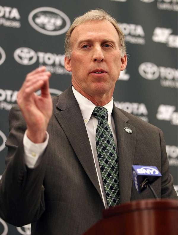 The Jets' new general manager, John Idzik, talks